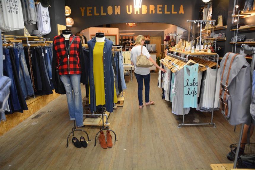 Yellow Umbrella clothing